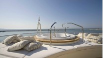 Full relax on board Darlings Danama Superyacht